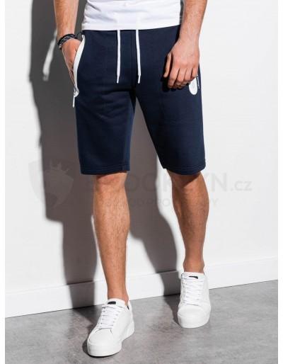 Men's sweatshorts W239 - navy
