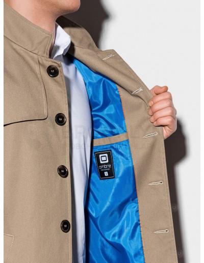 Men's autumn coat C269 - beige