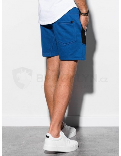 Men's sweatshorts W240 - blue
