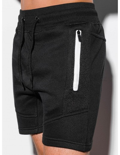Men's sweatshorts W240 - black