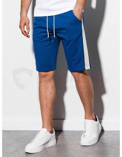 Men's sweatshorts W241 - blue