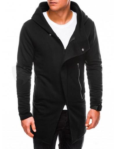 Men's hoodie with zipper B668 HUGO - black