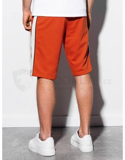 Men's sweatshorts W241 - brick