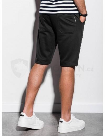 Men's sweatshorts W242 - black