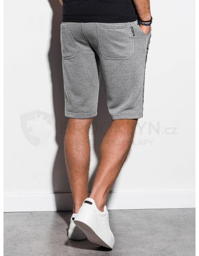Men's sweatshorts W242 - grey melange