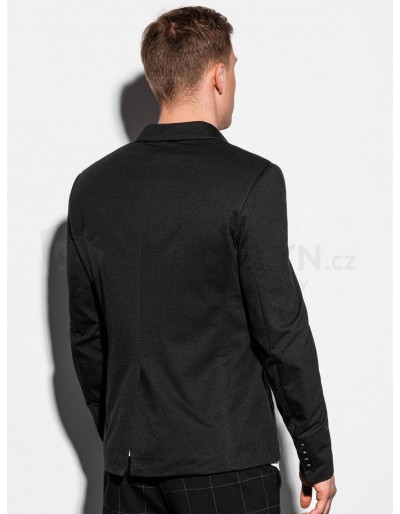 Men's casual blazer jacket M160 - black