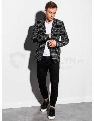 Men's casual blazer jacket M161 - black