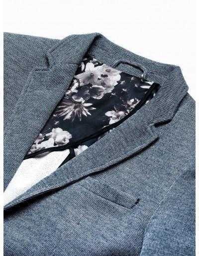 Men's casual blazer jacket M162 - navy