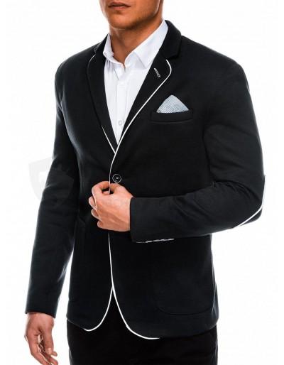 Elegant men's blazer M81 - black