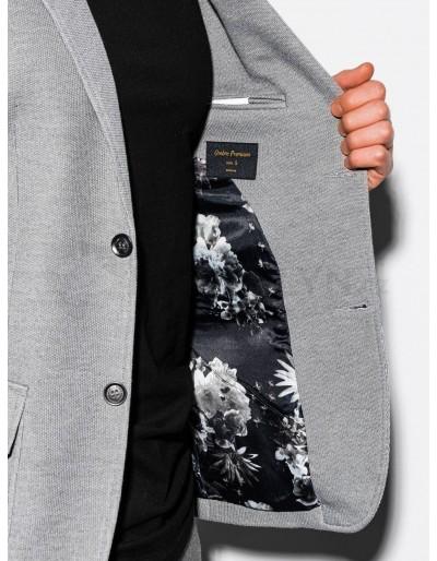 Men's casual blazer jacket M162 - grey