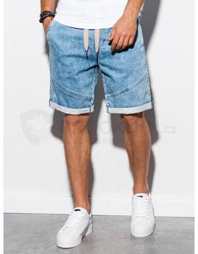Pánské riflové kraťasy W219 - lehké džíny