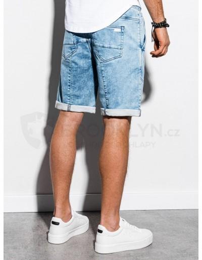 Men's denim shorts W219 - light jeans
