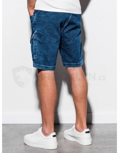 Men's denim shorts W220 - dark jeans
