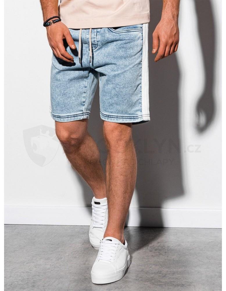 Pánské riflové kraťasy W221 - lehké džíny