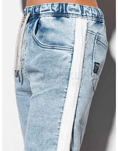 Men's denim shorts W221 - light jeans