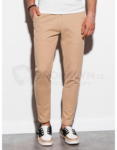 Pánské kalhoty chinos P891 - béžové