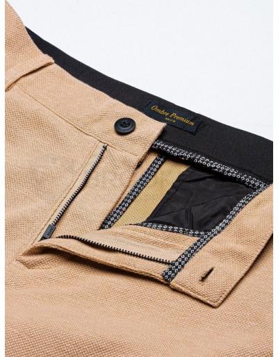 Men's pants chinos P891 - beige