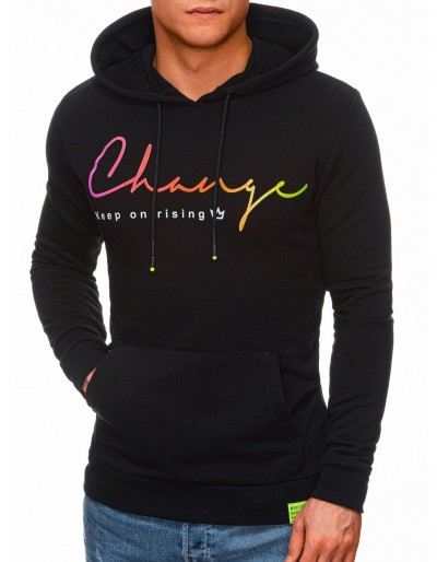 Men's hoodie B1330 - black