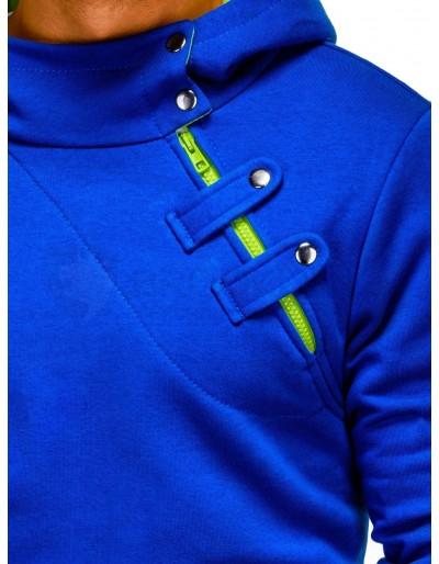 Men's hoodie PACO - blue/green