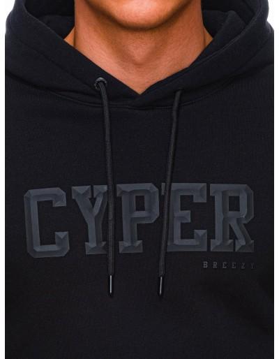 Men's hoodie B1332 - black