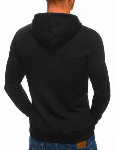 Men's hoodie B1321 - black