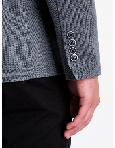 Casual men's blazer M80 - black