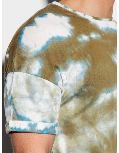 Men's Tie-Dye t-shirt S1219 - olive