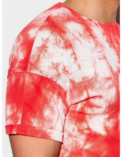 Men's Tie-Dye t-shirt S1219 - red