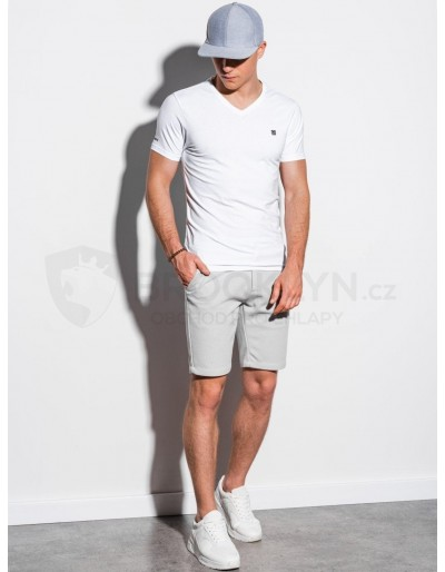 Men's plain t-shirt S1183 - white