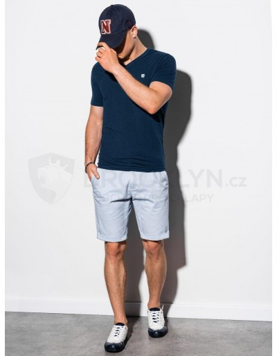 Men's plain t-shirt S1183 - navy