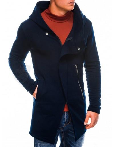 Men's hoodie with zipper b668 HUGO - navy