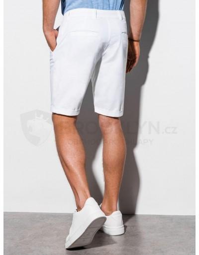 Men's casual shorts W243 - white