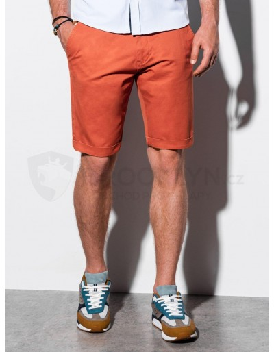 Men's casual shorts W243 - brick