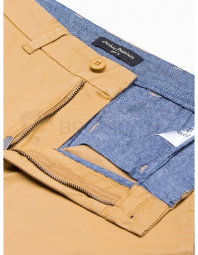 Men's casual shorts W243 - dark beige