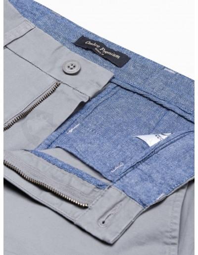 Men's casual shorts W243 - grey