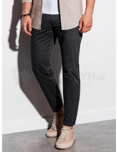 Pánské kalhoty chinos P894 - černé