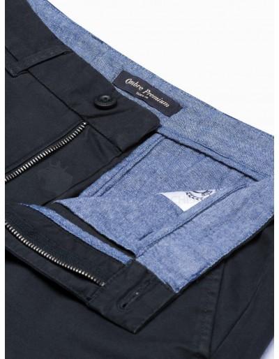Men's pants chinos P894 - black