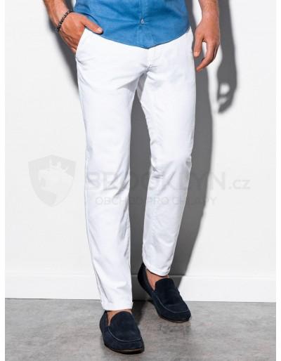 Pánské kalhoty chinos P894 - bílé
