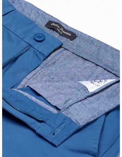 Men's pants chinos P894 - blue
