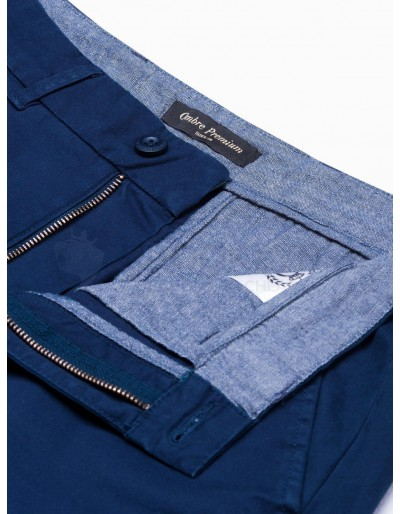 Men's pants chinos P894 - navy