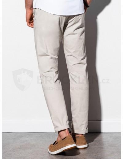 Men's pants chinos P894 - light beige