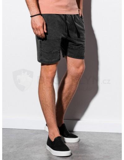 Men's sweatshorts W223 - black