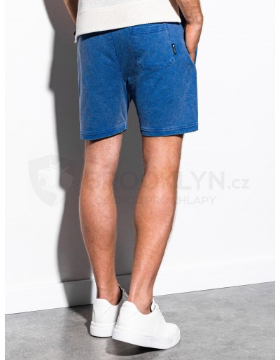 Men's sweatshorts W223 - blue