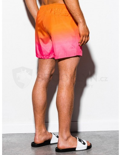 Men's swimming shorts W250 - orange