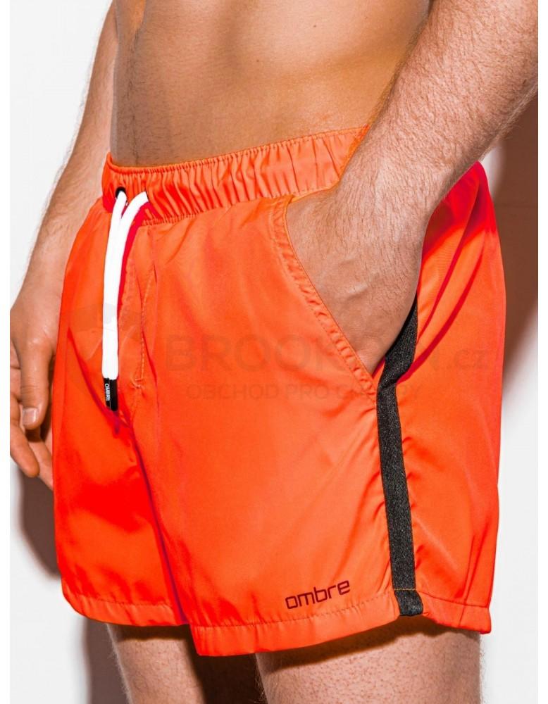 Pánské plavecké šortky W251 - oranžové