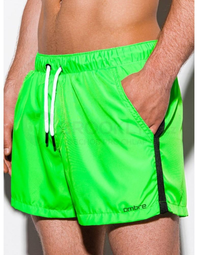 Pánské plavecké šortky W251 - zelené