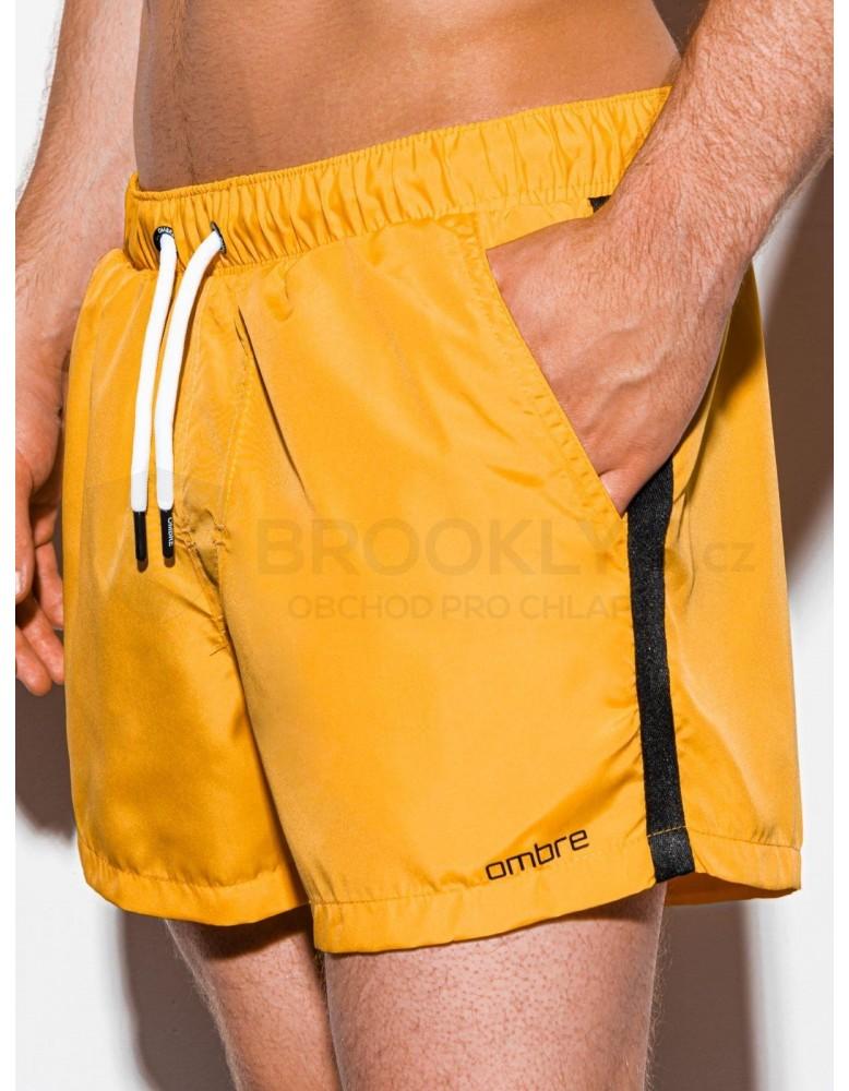 Pánské plavecké šortky W251 - žluté