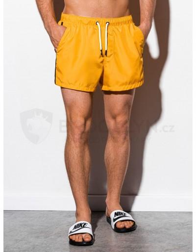 Men's swimming shorts W251 - yellow