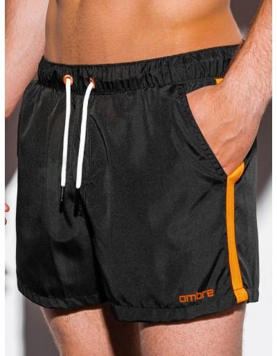Pánské plavecké šortky W251 - černé