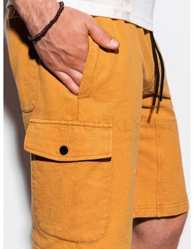 Men's sweatshorts W225 - yellow